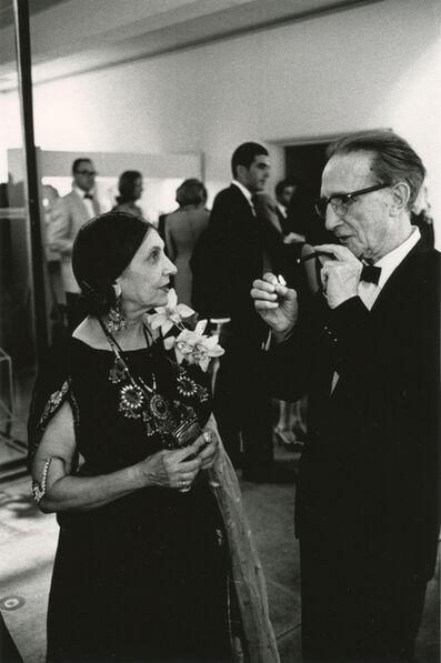 Julian Wasser, 'Beatrice Wood and Marcel Duchamp at the Opening Reception, Duchamp Retrospective, Pasadena Art Museum', 1963