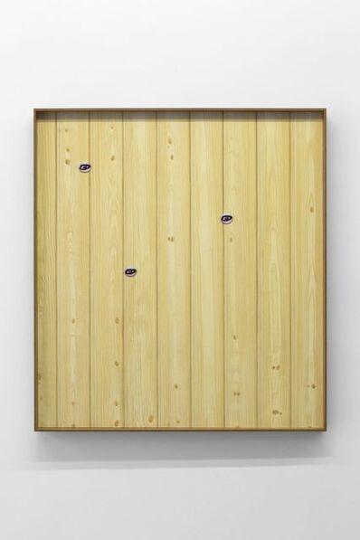 Valentin Carron, 'Les yeux sur le lambris', 2017