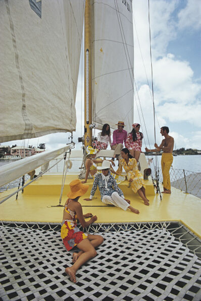 Slim Aarons, 'A Colourful Crew', 1970
