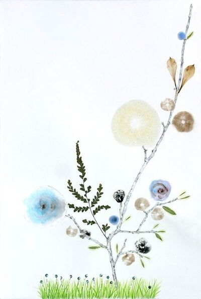 Marilla Palmer, 'Grass with Blue Dots', 2013