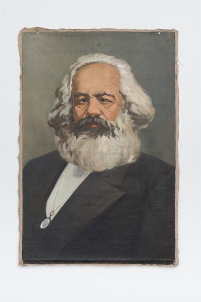 Hans-Peter Feldmann, 'Karl Marx with cross-eyes'