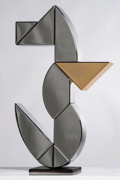 Camilla Ancilotto, 'Ab Ovo Sea Horse(Steel - M)', 2019