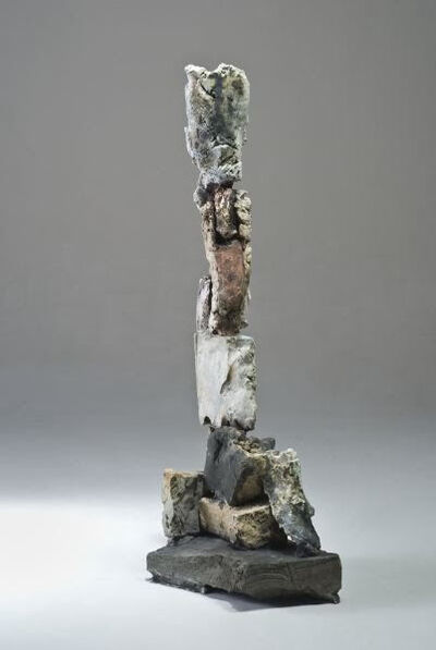 Stephen De Staebler, 'Segmented Leg with Red Knee', 2010
