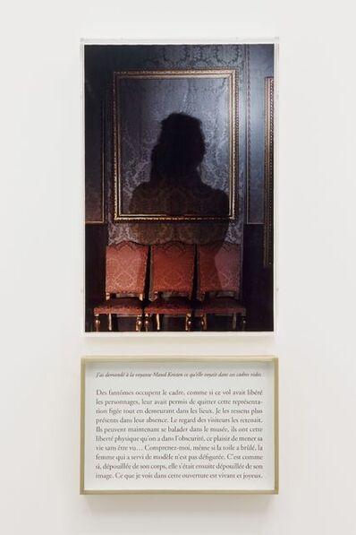 Sophie Calle, 'What do you see ? The clairvoyant / Que voyez-vous ? La voyante', 2013