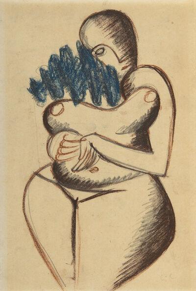 Le Corbusier, 'Femme nue aux cheveux bleus', ca. 1930-1935