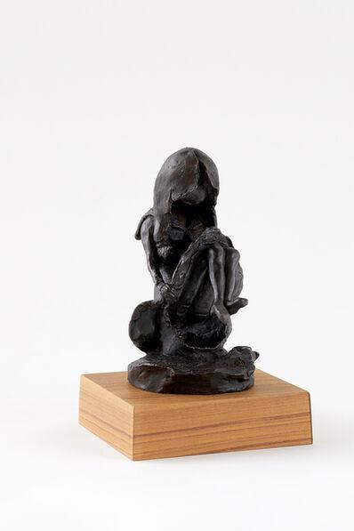 Hiroshi NAKAMURA, 'しゃがむ女学生', 1970