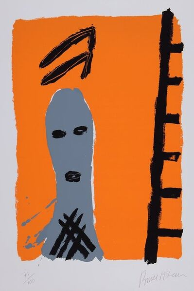 Bruce McLean, 'Untitled (Man with Ladder)', 1984
