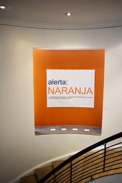 Antonio Caro, 'Alerta Naranja ', 2019