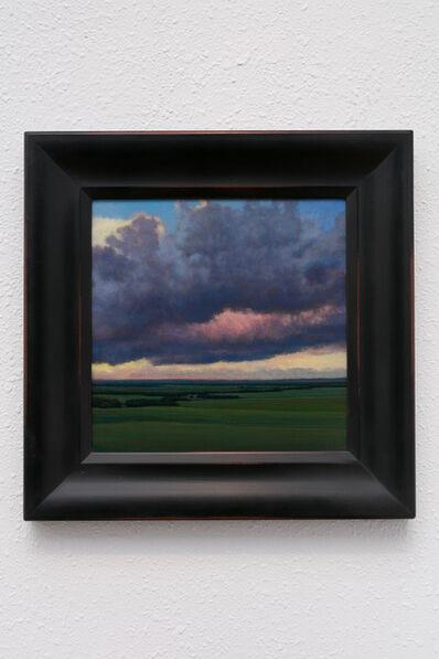 Jeff Aeling, 'Sunset near Wamego, KS', 2020