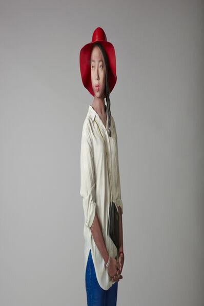 Hwan-Kwon Yi, 'Three Siblings(elder sister)', 2015