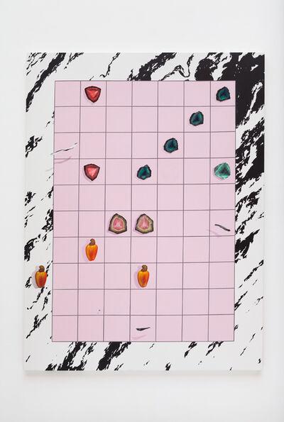Bruno Novelli, 'Grid com cajus (Grid with cashew)', 2017