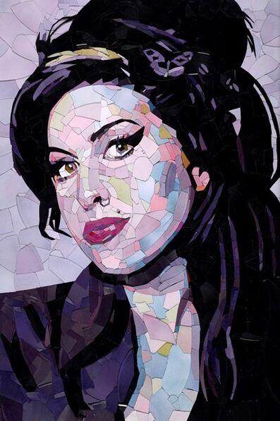 Ed Chapman, 'Amy Winehouse', 2018