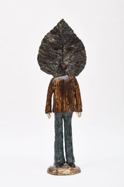 Klara Kristalova, 'Leaf man', 2017