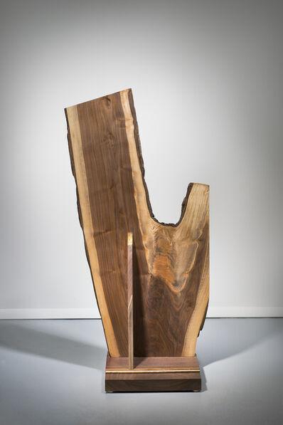 Betty McGeehan, 'Minimal Wood Abstract Sculpture: 'Insurmountable'', 2015-18