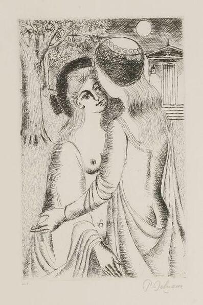 Paul Delvaux, 'Tender Night', 1960