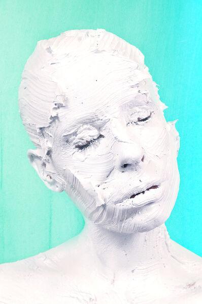 Sophie Derrick, 'Between The Light - Titanium on Viridian V1', 2017