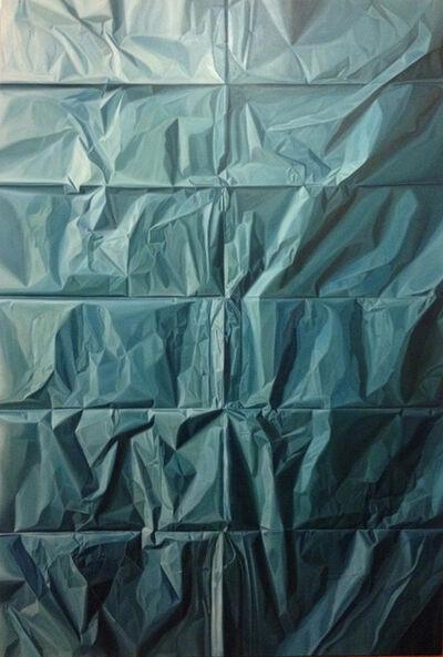 Nicolás Radic, 'Papel Azul', 2014
