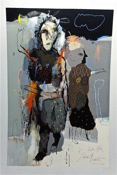 jean-louis Bessède, 'the blue tree', 2020