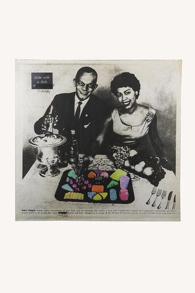 Antoni Miralda, 'Date with a Dish', 1974