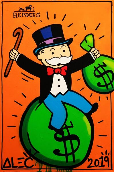 Alec Monopoly, 'Hermes Monopoly with $ Bags', 2019