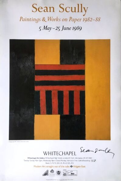 Sean Scully, 'Sean Scully: Paintings & Works on Paper: 1982-1988 (Hand Signed)', 1989