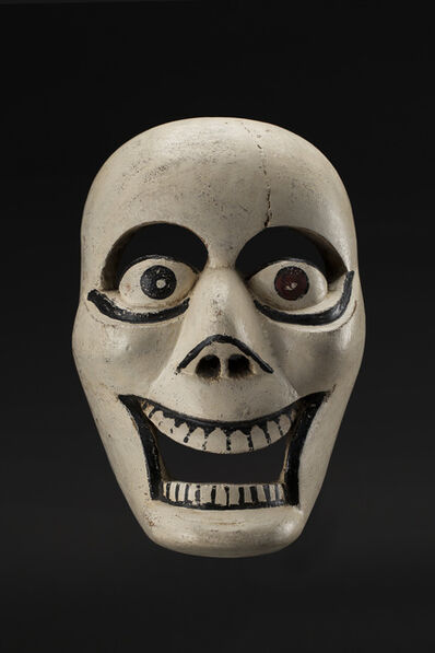 Unknown Artist, 'Veracruz, Naolinco Calavera mask Maskmaker: Lino Mora Rivera', 1970s