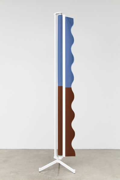Nicole Wermers, 'Vertical Awning (brown/blue)', 2016
