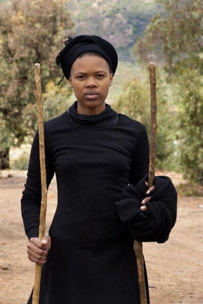 Thandiwe Msebenzi, 'Qula', 2019