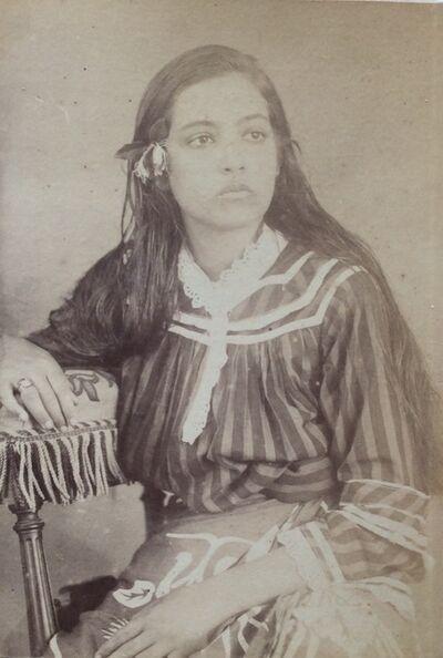 Charles Georges Spitz, 'Louita, Fille d'Americaine et de Canaque', 1888