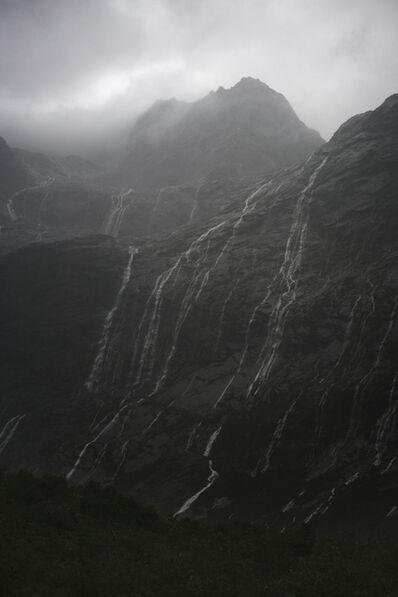Jem Southam, 'Rain Cascades, Mountains, Fjordland, New Zealand, Autumn', 2018