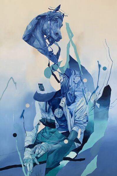 Joram Roukes, 'Equestrian Confetti', 2020