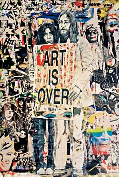 Mr. Brainwash, 'John Lennon & Yoko Ono: Art is Over....Here', ca. 2010
