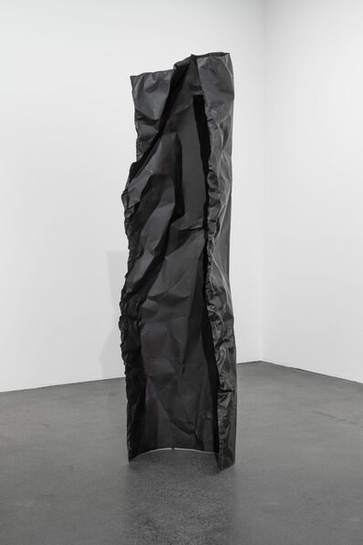 Rosemarie Castoro, 'Black Flasher B', 1979