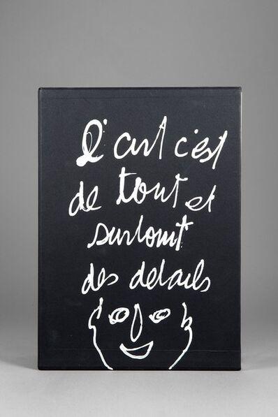 Ben Vautier, 'Réédition des bag'arts de Ben', 1979-1988