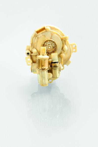 'V12 Laraki Camshaft Cogwheel Cover', 2013