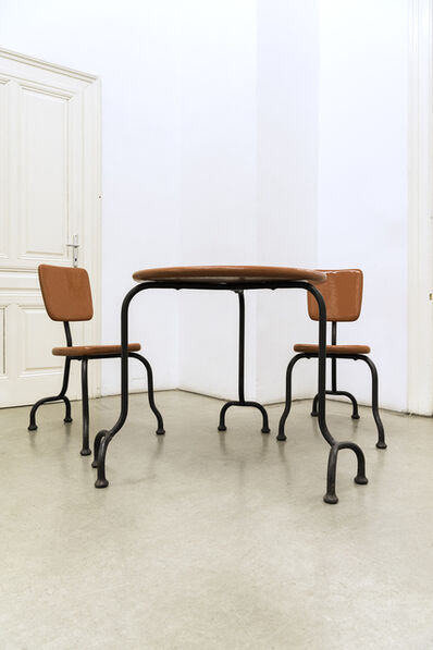 Atelier Van Lieshout, 'bad furniture', 2004
