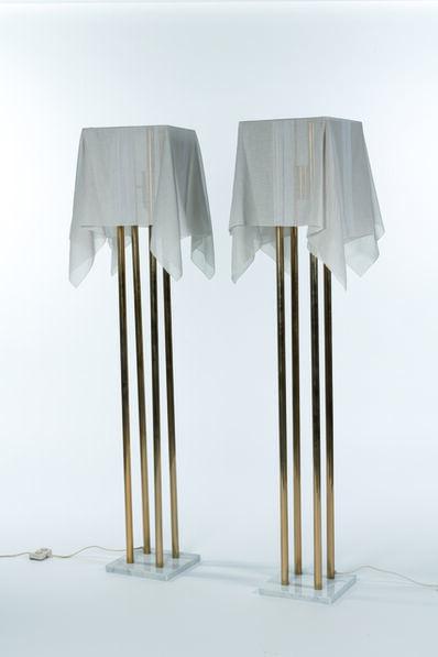 Kazuhide Takahama, 'Pair of «Nefer» floor lamps', 1980