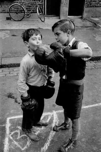 Frank Horvat, 'London, Lambeth - Boxing Boys (close-up)', 1955