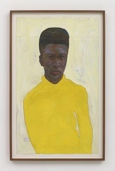 Amoako Boafo, 'Yellow Turtleneck', 2018