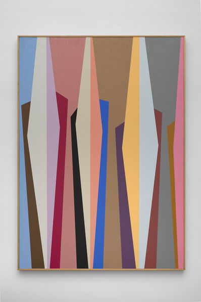 Karl Benjamin, '#3', 1988