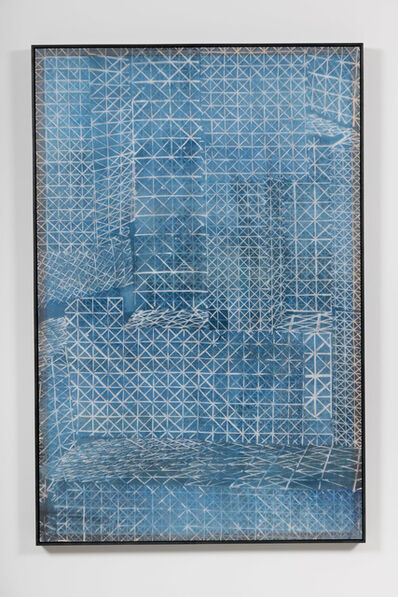 Shannon Bool, 'Wotruba Bleu', 2018