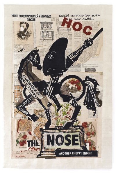 William Kentridge, 'The Nose (with Strawberries)', 2012
