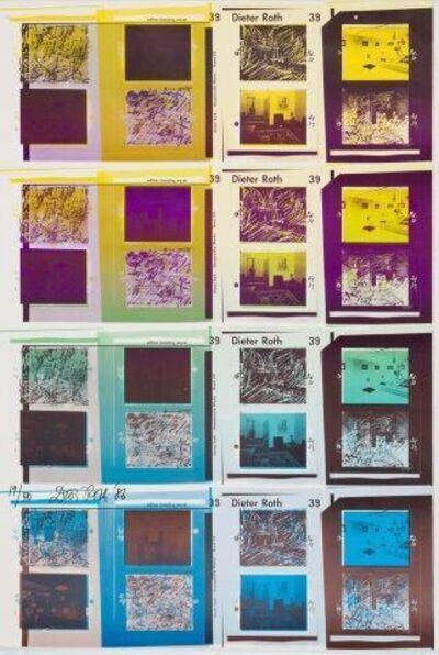 Dieter Roth, 'Gesammelte Werke Band 39 Poster'