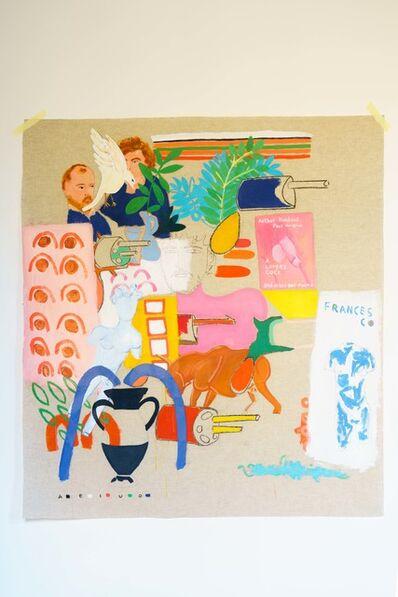 Matheus Chiaratti, 'Sketchbook II Rimbaud Verlaine rivolvita', 2018