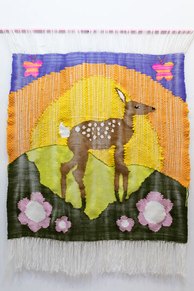 Alex Brown, 'Deer Weaving', 2019