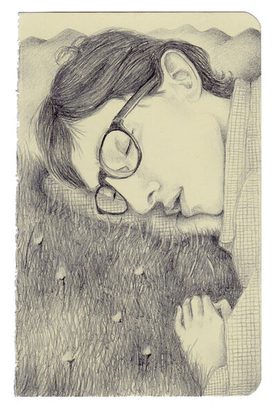 Guillermo Martin Bermejo, 'The Sleeping Poet', 2019
