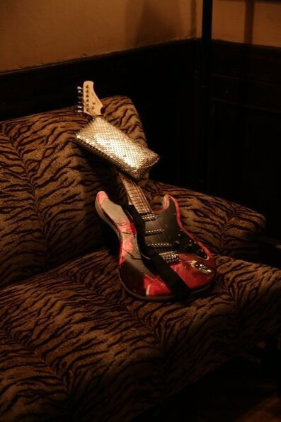 Agathe Snow, 'Bad Girls Guitar Handbag, 2015'