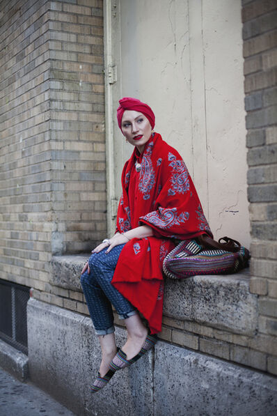 Langston Hues, 'New York Minute, Feda Eid, Boston visual artist, photographer, and style blogger, from Modest Street Fashion vol. 1', 2014