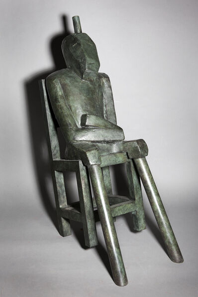 Jerry Atkins, 'Man in Chair', 2019