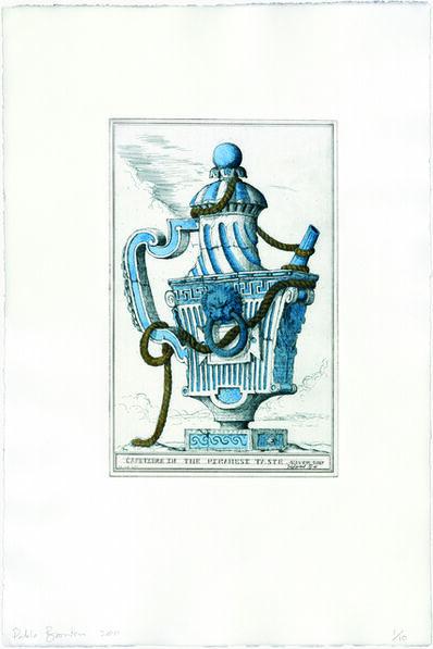 Pablo Bronstein, 'Cafetiere in the Piranesi Taste (Wedgewood Blue)', 2011